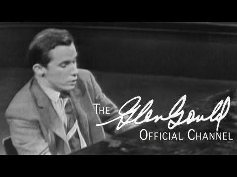 Glenn Gould - Bach, Brandenburg Concerto No. 5 in D-major (OFFICIAL)