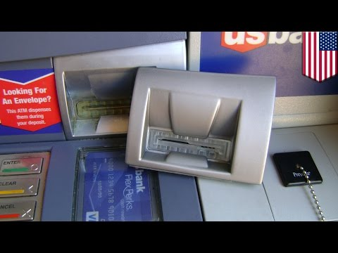 ATM skimming: How to spot an ATM skimmer - TomoNews