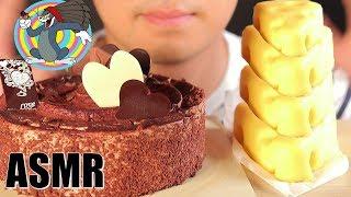 ASMR CHOCOLATE CAKE,CHEESE CAK…