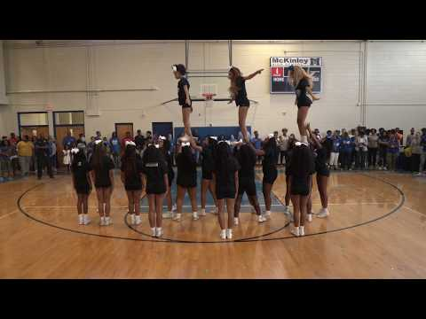 McKinley High Cheerleaders | Homecoming Pep Rally (2019)