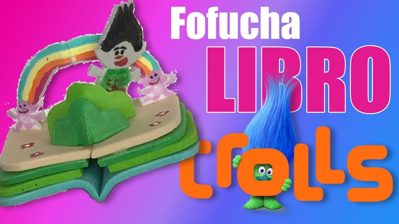 How to scrapbook like poppy - Mini Libro Para Fofucha Poppy Trolls Mini Scrapbook For Poppy Trolls Fofucha
