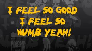 Rob Zombie Feel So Numb (Lyric Video)