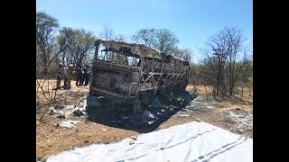 More than 40 killed in bus accident in Zimbabwe