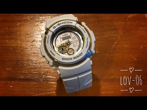 White Gold G-301LV Series G-Shock Watch Reviews