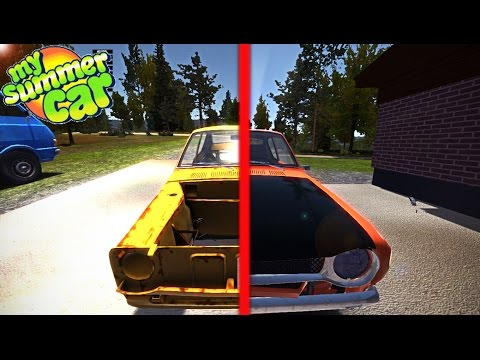 Как установить сейв на My Summer Car 182 Build