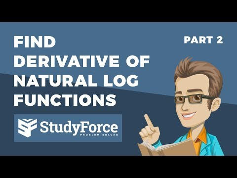 📚 How to find the derivative of natural logarithmic functions (Part 2)
