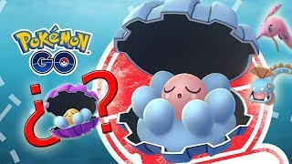 ¡NUEVO EVENTO CLAMPERL en Pokémon GO! ¿¡Saldrá SHINY! Tendremos HUNTAIL y GOREBYSS! [Keibron]