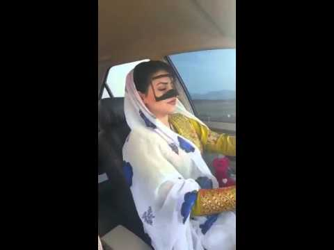 Arabic girl dancing while driving you must watch