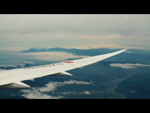 JAL Japan Airlines 787-9 Helsinki-Tokyo Narita Safety, Takeoff, Midnight Sun Inflight, Landing