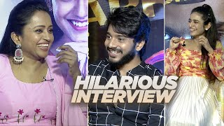 Anchor Suma Interviews Teja Sajja and Priya Prakash Varrier About Ishq Movie | Super Fun