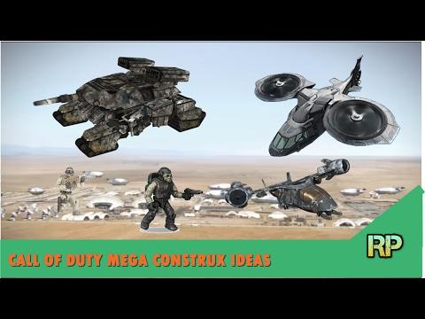 CALL OF DUTY MEGA CONSTRUX SETS IDEAS
