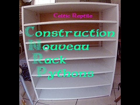 TUTO CONSTRUCTION RACK SERPENTS