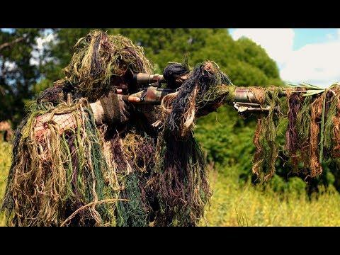 Спецназ: маскировка снайпера: часть 1.