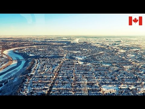 BEAUTIFUL HELICOPTER TOUR IN CANADA 🇨🇦 Edmonton, Canada Travel Vlog