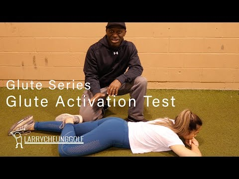 Golf Fitness – Glute Activation Test