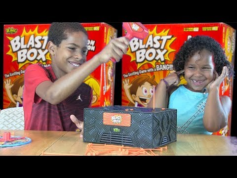 3-2-1 Blast Box Toy Unboxing and Toy Review