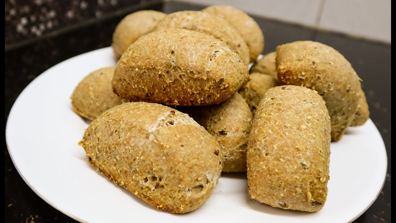 Pan integral con semillas  (fácil y delicioso)