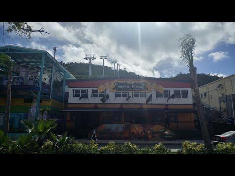 MSC Seaside Excursion St Thomas U.S.Virgin Islands & Hurricane Irma devastation from MSC Divina 2017