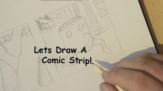 Lets Draw A Comic Strip