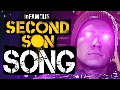 ♫ inFAMOUS Second Son SONG 'Feed the Need' ORIGINAL SONG by TryHardNinja