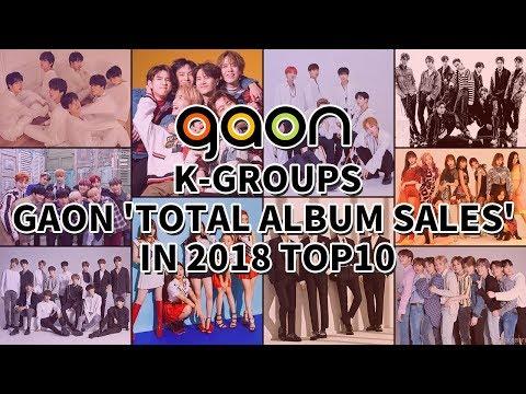 [TOP 10] K-GROUPS GAON 'TOTAL ALBUM SALES' IN 2018