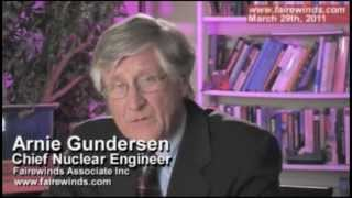 Fukushima Revisited: Plutonium Leakage & Highly Radioactive Water (Arnie Gundersen 3/29/11)
