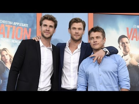 Chris Hemsworth and Brothers Make Surprise Appearance at 'Vacation' Premiere