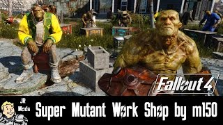 Fallout 4 Mod Showcase: Super Mutant Work Shop