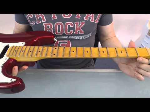 How to scallop a fret board - How deep should you go?