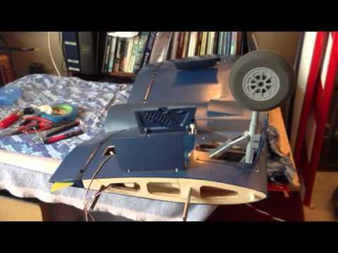 Top Flite Giant Scale F4u Corsair Landing Gear Doors Youtube
