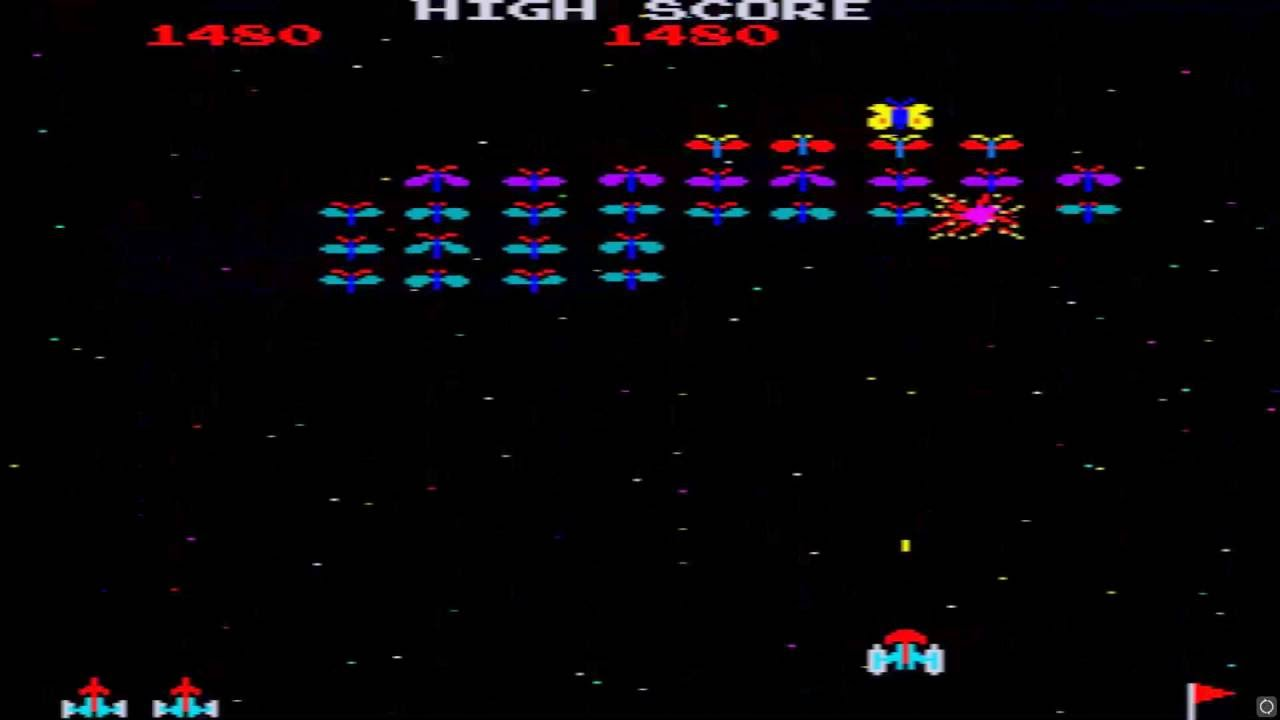 arcade hack galaxian bug sprites by the dog in 1998 its