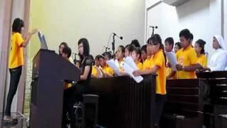"Lagu Pembuka ""Kita Menghadap Altar Tuhan"" MISA KREASI MISDINAR DEKANAT I KEUSKUPAN AGUNG PALEMBANG"