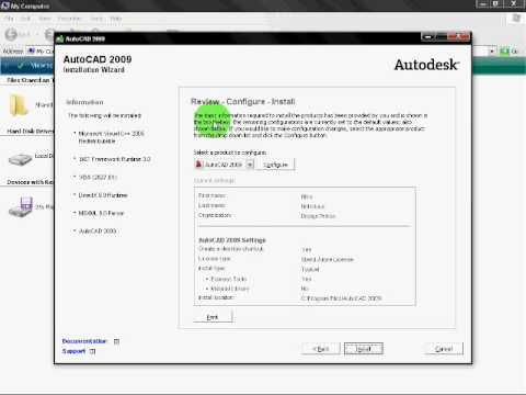 autodesk autocad 2009 software free  full version
