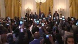 Trump addresses Young Black Le…