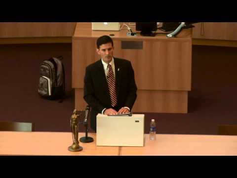 Richard M. Jones - Syracuse Law Convocation Lecture Series