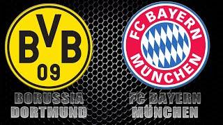 Borussia dortmund - bayern mÜnchen 2:3 07.11.2020 bundesliga