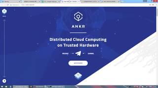 Обзор ICO Ankr Network - облачные вычисления на блокчейне, PoUW иксанет?