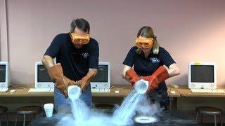 Repeat youtube video Let's Pour Liquid Nitrogen on the Floor!