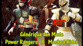 ZFTV - Générique Cross-Over Power Rangers / Masked Rider (Fan Made)