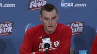 Final Four Postgame News Conference: Wisconsin
