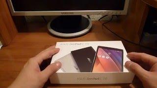 розпакування-#17. планшета ASUS ZenPad C7.0 Z170MG 3