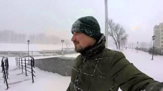 Февральская снежная буря в Калининграде (февраль 2015)