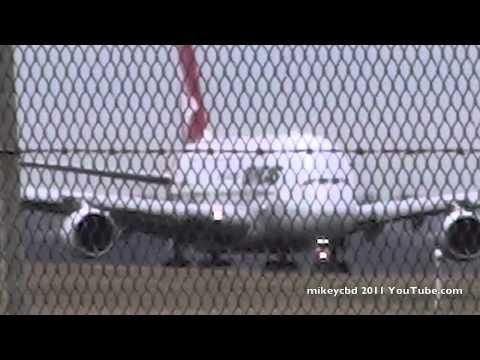 QF9 Qantas A380 Airbus Take Off  Melbourne Singapore London LHR 03APR11  ATC