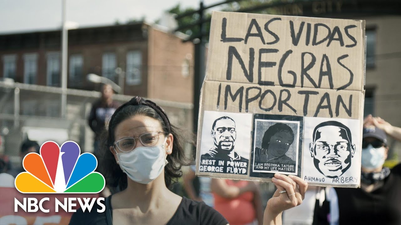 NBC News: 'Your fight is my fight:' Latino community marches in solidarity with BLM movement