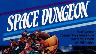 Classic Game Room - SPACE DUNGEON for Atari 5200 review