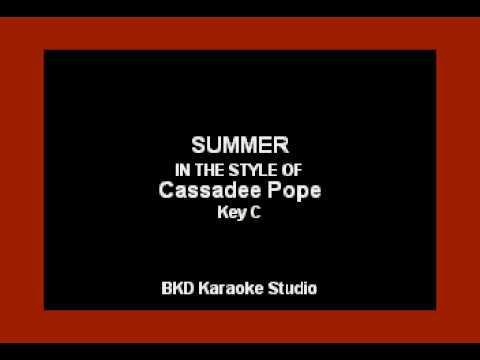 Summer (In the Style of Cassadee Pope) (Karaoke with Lyrics)