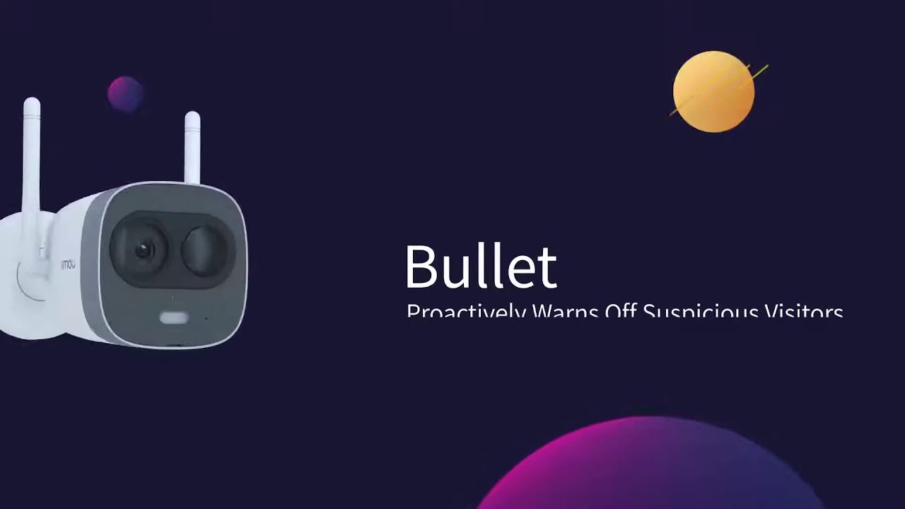 DAHUA- Imou New Bullet - Dual Antenna And 2x2 MIMO