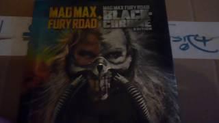 Mad Max Fury Road Black & Chrome Edition Bluray Steelbook Look