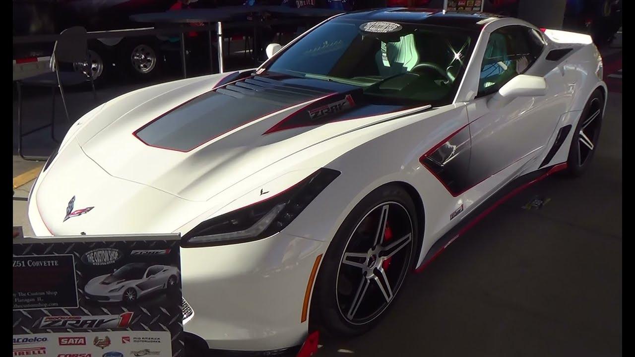 2014 Corvette Wide Body Quot Zray1 Quot The Custom Shop Sema 2014