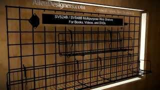 Diy Gridwall Multi-purpose Wire Shelves For Videos And Dvds.avi